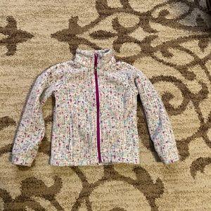 Columbia Girls Fleece Jacket SZ Small 7/8